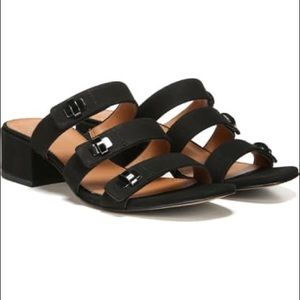 Franco Sarto Arabesque Strappy Slide Sandals